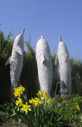 Mosaik skulpturer