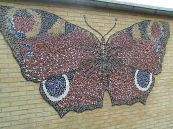 Mosaic mural, Solbjerg