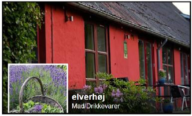 De Kreative Mellemrums samarbejdspartner, Restaurant Elverhøj, i Them