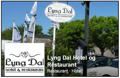 """""""De Kreative Mellemrums"""" samarbejdspartner, Lyng Dal Hotel & Restaurant, i Gl. Rye"""
