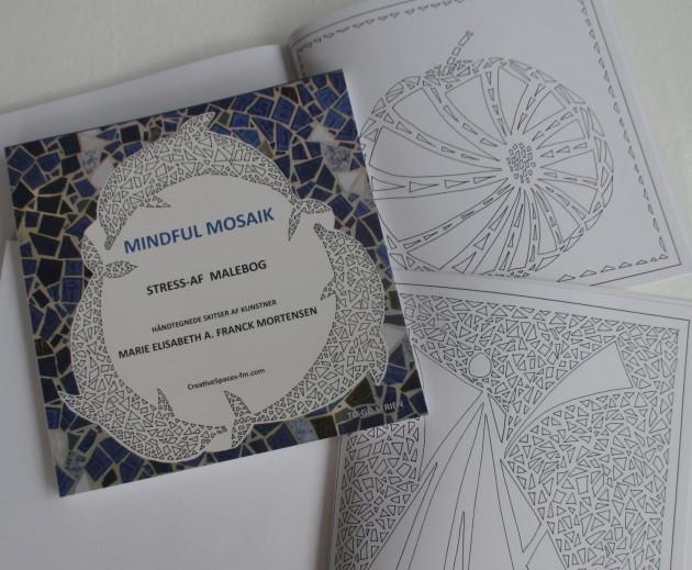 Mindful Mosaik: Stress-af Malebog af Marie Elisabeth A. Franck Mortensen