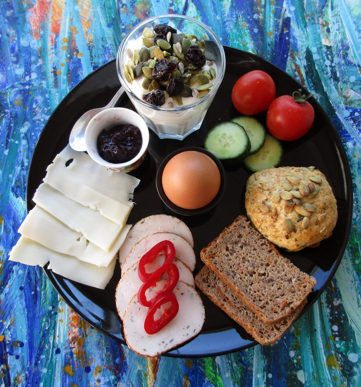 Morgenmadsplatte, B&B Gl. Rye